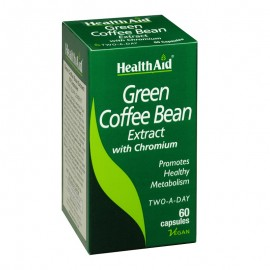 Health Aid Green Coffee Bean Extract, Εκχύλισμα Πράσινου Καφέ 60Caps