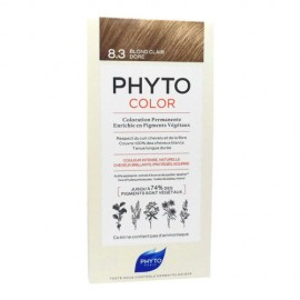 Phyto PhytoColor Blond Clair Dore 8.3, Βαφή Μαλλιών Ξανθό Ανοιχτό Χρυσό 1τεμ
