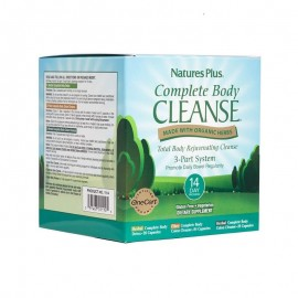 Natures Plus Complete Body Cleanse 2 x 28 φυτικές κάψουλες & 1 x 81 φυτικές κάψουλες