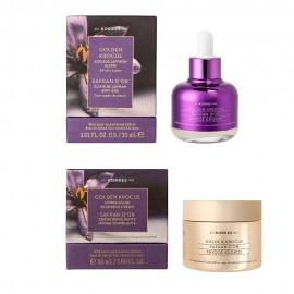 Korres Gift Set Golden Krokus Elixir 30ml & Golden Krokus Hydra Filler Επανορθωτική Κρέμα 50ml