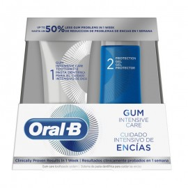 Oral-B Set Gum Intensive Care Toothpaste 85ml + Protection Gel 63ml
