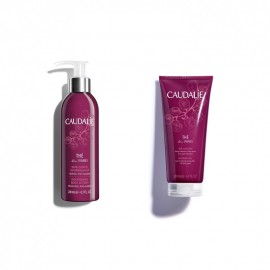 Caudalie Gift Set The Des Vignes Body Lotion 200ml & Shower Gel 200ml
