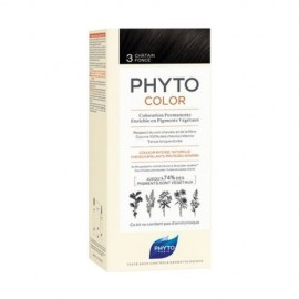 Phyto PhytoColor Chatain Fonce 3.0, Βαφή Μαλλιών Καστανό Σκούρο 1τεμ