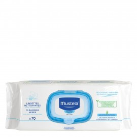 Mustela - Dermo Soothing Wipes Delicate Fragrance New (μαντηλάκια καθαρισμού), 70τεμ.