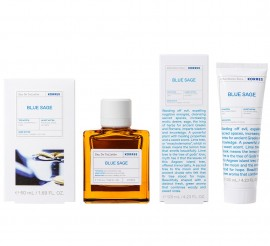 Korres Gift Set Eau De Toilette Blue Sage 50ml & After Shave Balm 125ml