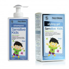 Frezyderm Gift Set Sensitive Kids Shampoo Boys 200ml & Sensitive Kids Styling Gel 100ml + Δώρο 50ml