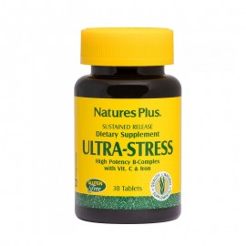 Natures Plus Ultra Stress with Iron 30 ταμπλέτες