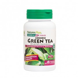 Natures Plus, Green Tea Chinese 400 mg, 60 vcaps