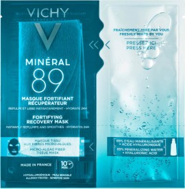 Vichy - Mineral 89 Tissue Mask Μάσκα Ενυδάτωσης 29gr