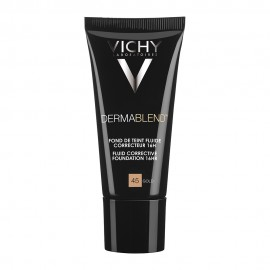Vichy Dermablend Fluid Make-Up SPF35 Gold-45, Διορθωτικό Μέικ-Απ Λεπτόρρευστης Υφής 30ml