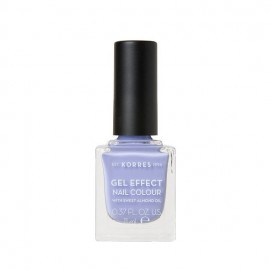 Korres Gel Effect Nail Colour, Βερνίκι Νυχιών Απόχρωση 73 Lavender Purple