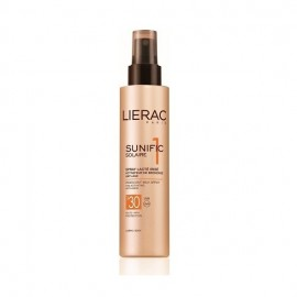 Lierac Sunific 1 Solaire Spray Lacte Irise SPF30 Corps, Ενεργοποίηση του Μαυρίσματος με Αντιηλιακή Προστασία και Αντιγηραντική Δράση 150ml
