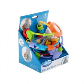 Playgro Play and Learn Ball, Μπάλα/Παιχνίδι Δραστηριοτήτων από 6 μηνών 1τμχ