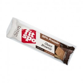 Fit Spo Slim 50% Protein Choco Brownie, Μπάρα Πρωτεΐνης 50g
