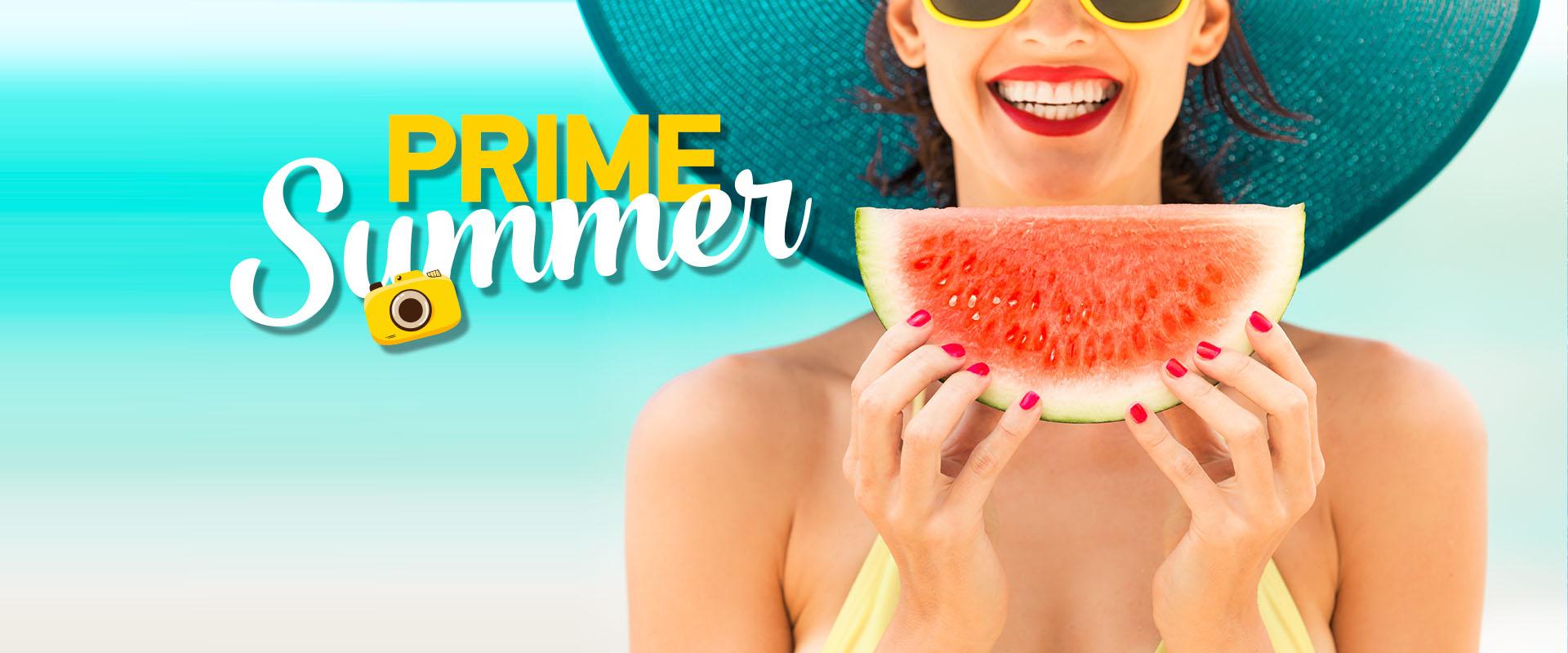 Ζήσε το δικό σου Prime Summer